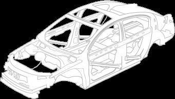Hot Stamp Car Frame